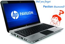 HP Pavilion password reset