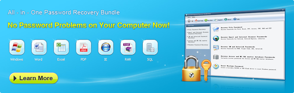 All-in-One Password Recovery Bundle